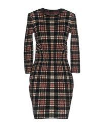 Alexander McQueen - Black Short Dress - Lyst