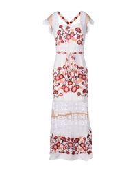 For Love & Lemons - White Long Dress - Lyst