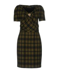 Gucci Green Short Dress