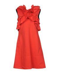 Vestito corto di Marni in Red