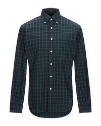Camisa Mp Massimo Piombo de hombre de color Green