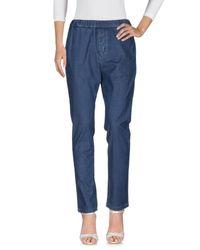 Haikure Blue Denim Trousers
