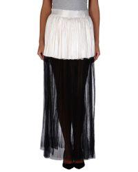 Haider Ackermann | Black Long Skirt | Lyst