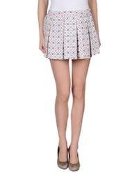 Paul & Joe | White Mini Skirt | Lyst
