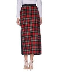 I'm Isola Marras - Red 3/4 Length Skirts - Lyst