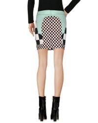 Love Moschino - White Mini Skirt - Lyst