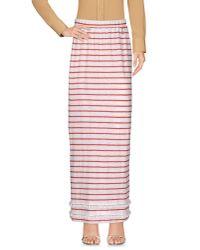 Twin Set - White Long Skirt - Lyst