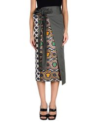 Collection Privée | Multicolor 3/4 Length Skirt | Lyst