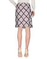 Dior - Pink Knee Length Skirt - Lyst