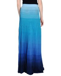 Missoni - Blue Long Skirt - Lyst