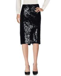 P.A.R.O.S.H. Black 3/4 Length Skirt