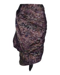 Vivienne Westwood Red Label Purple 3/4 Length Skirt