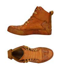 Boris Bidjan Saberi Brown High-tops & Sneakers for men