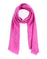 Étole Versace en coloris Pink