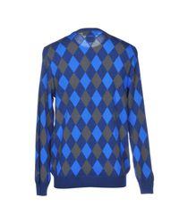 Pullover di Lyle & Scott in Blue da Uomo