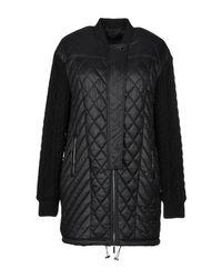 Trussardi Black Synthetic Down Jacket