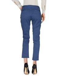 TRUE NYC Blue Casual Pants