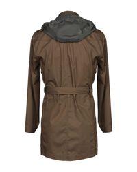 Officina 36 Multicolor Overcoat for men