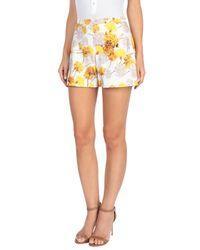 Giambattista Valli Yellow Shorts