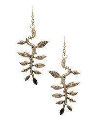 John Richmond Metallic Earrings