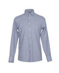 Camicia di Tombolini in Blue da Uomo