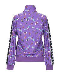 Sudadera Kappa de color Purple