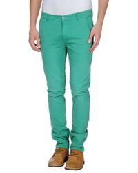 Jcolor - Green Casual Trouser for Men - Lyst