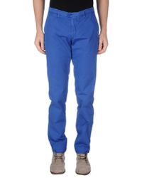 DRYKORN   Blue Casual Pants for Men   Lyst