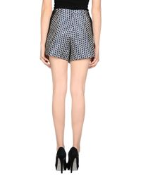 Pinko - Blue Mini Skirt - Lyst