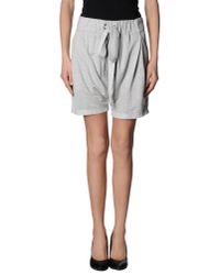 Osklen - Gray Shorts - Lyst