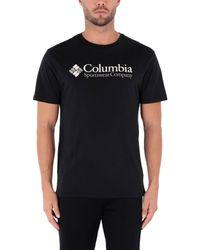 Columbia Black North Cascades T Shirt for men