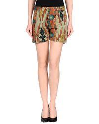 Macchia J Green Shorts
