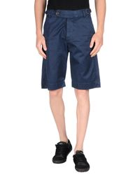 Red 5 Blue Bermuda Shorts for men