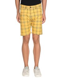 Jack & Jones Yellow Bermuda Shorts for men