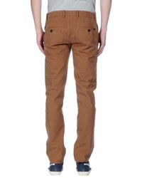 Stone Island Brown Casual Pants for men