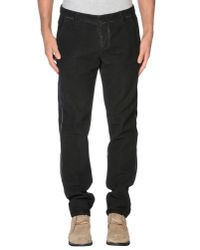 Dondup Black Casual Pants for men