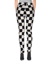 Love Moschino - Black Casual Pants - Lyst