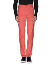 Franklin & Marshall - Pink Casual Pants for Men - Lyst