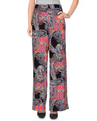 Lauren by Ralph Lauren - Black Casual Trouser - Lyst