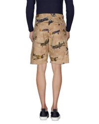 Franklin & Marshall - Natural Bermuda Shorts for Men - Lyst
