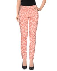 MAX&Co. | Pink Casual Pants | Lyst