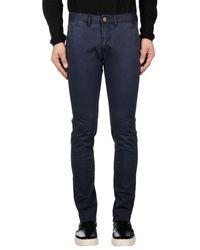 Peuterey Blue Casual Pants for men