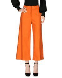 American Retro - Orange Casual Pants - Lyst