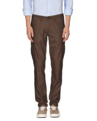 Eleventy - Natural Casual Trouser for Men - Lyst