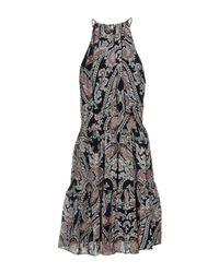 L'Agence Blue Short Dress