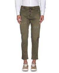 Berna - Green Casual Pants - Lyst
