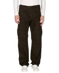 Carhartt Green Casual Trouser for men