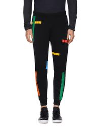 Ejxiii Black Casual Trouser for men
