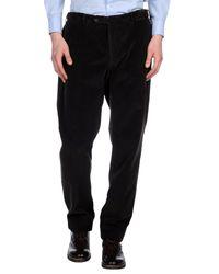 Incotex Black Casual Pants for men