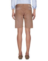2W2M - Brown Bermuda Shorts for Men - Lyst